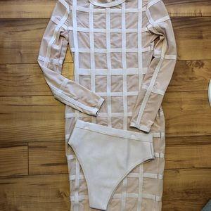 Hot Miami Styles See Through Dress